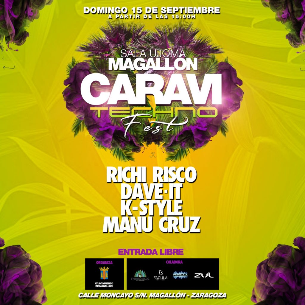CARAVI TECHNO FEST MAGALLON  15/9/2019