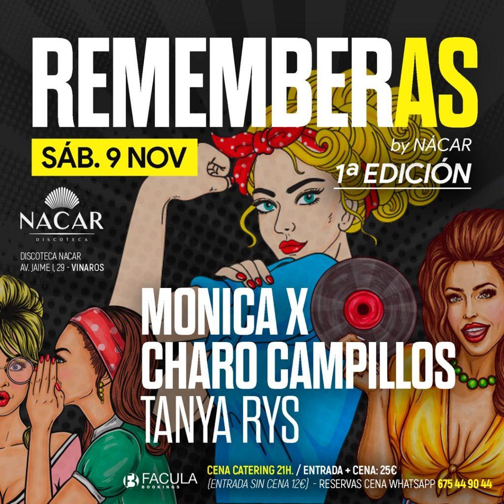 REMEMBERAS NACAR VINAROZ  1º EDICION